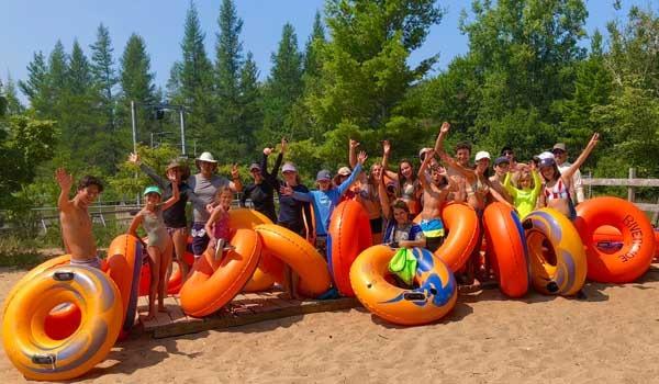 Platte River Tubing Trip Bay Life GetawaysOG