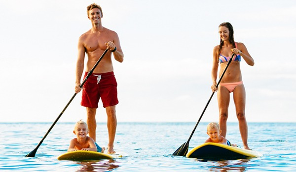 paddle board rental traverse city