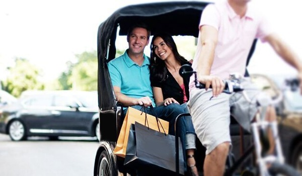 happy town rickshaw pedicab tours traverse city
